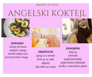 Veš za angelski koktejl?